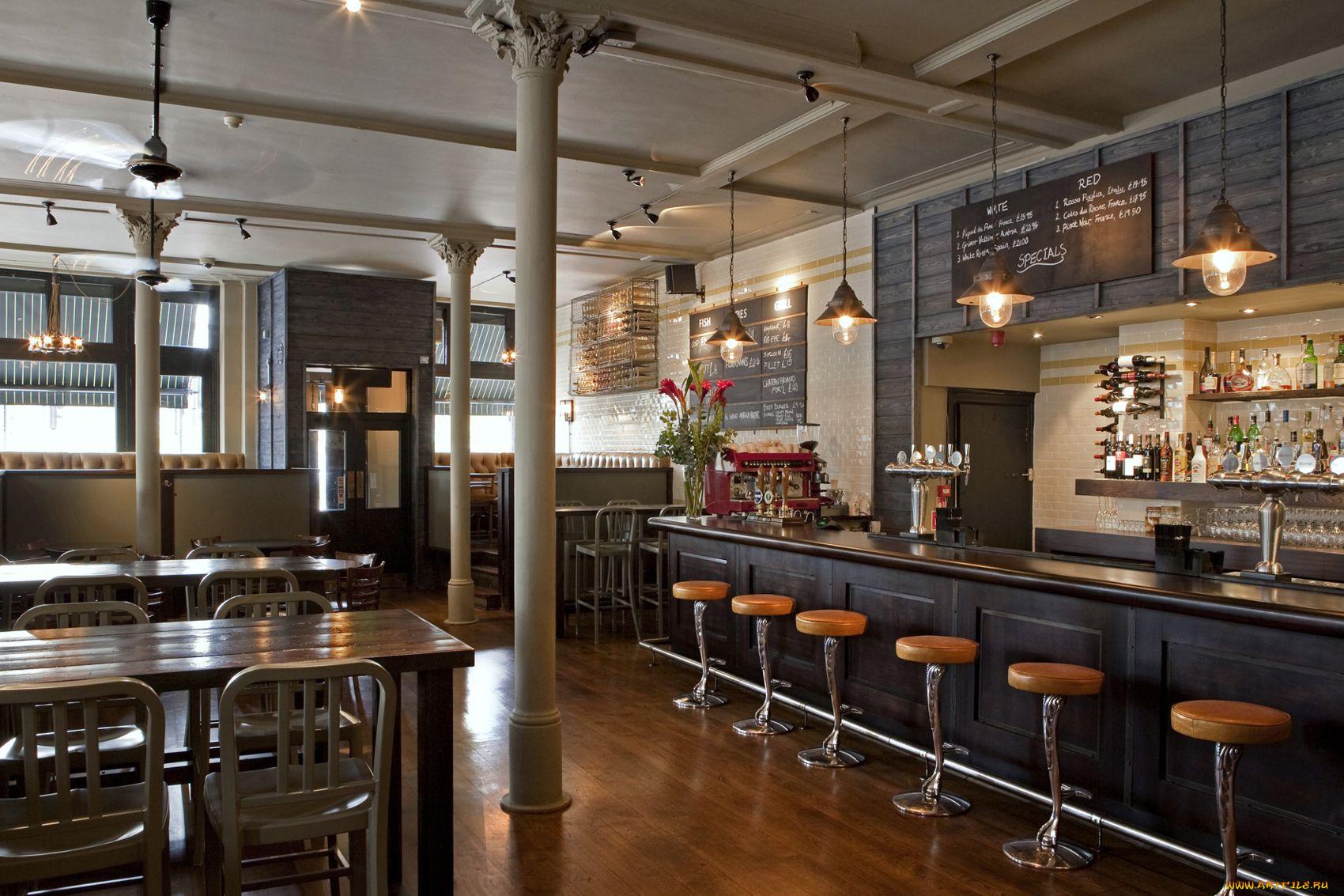 Кафе бары фото дизайн